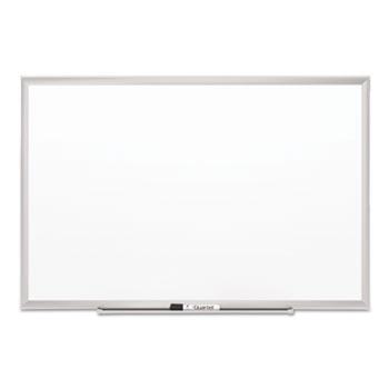 Quartet® Classic Series Porcelain Magnetic Board, 36 x 24, White, Silver Aluminum Frame