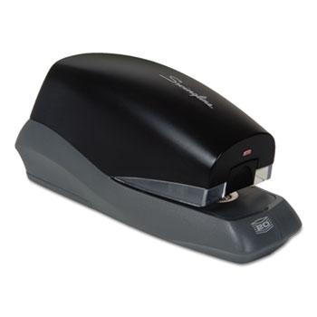 Swingline® Breeze Automatic Stapler, Full Strip, 20-Sheet Capacity, Black