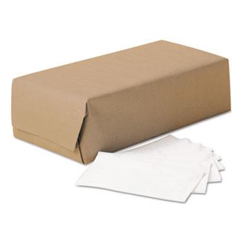 Scott® 1/8-Fold Dinner Napkins, 2-Ply, 17 x 14 63/100, White, 300/Pack, 10 Packs/Carton