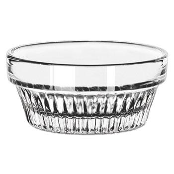 Libbey Winchester Ramekins, Glass, 1 1/2 oz, Round, Clear, 36/Carton