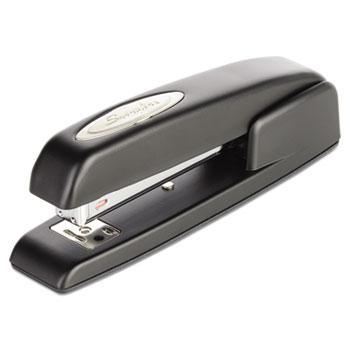 Swingline® 747 Business Full Strip Desk Stapler, 20-Sheet Capacity, Black