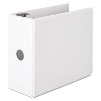 "Wilson Jones® Basic D-Ring View Binder, 5"" Cap, White"