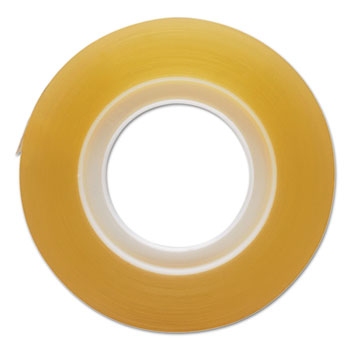 """Transparent Tape, 3/4"""" x 1000"""", 1"""" Core, Clear, 12/Pack"""