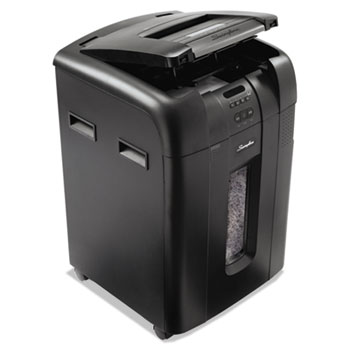 Stack-and-Shred 500X Auto Feed Heavy Duty Shredder, Super Cross-Cut, 500 Sheets