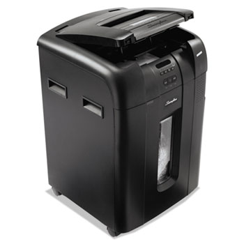 Stack-and-Shred 500M Auto Feed Heavy Duty Shredder, Micro-Cut, 500 Sheets
