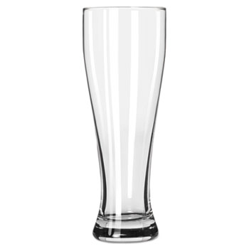 Libbey Giant Beer Glasses, 23 oz, Clear, 12/Carton