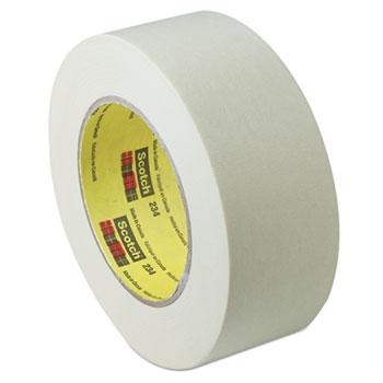 "General Purpose Masking Tape 234, 48mm x 55m, 3"" Core, Tan"