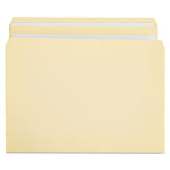 Universal Double-Ply Top Tab Manila File Folders, Straight Tab, Legal Size, 100/Box