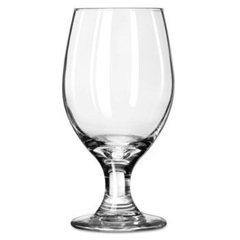 "Libbey Perception Glass Stemware, Banquet Goblet, 14oz, 6 1/2"" Tall, 24/CT"