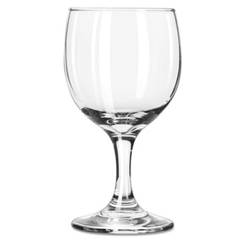 """Embassy Flutes/Coupes & Wine Glasses, Wine Glass, 8.5oz, 5 5/8"""" Tall"""