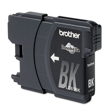 Brother LC61BK Innobella Ink, Black