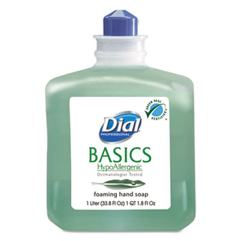 Dial® Basics Foaming Hand Soap Refill, 1000mL, Honeysuckle
