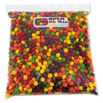 "Reclosable Food Storage Bags, 1 qt, 1.75 mil, 7"" x 8"", Clear, 500/Box"