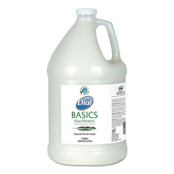 Dial® Professional Basics Liquid Hand Soap, Rosemary & Mint, 1 gal. Bottle