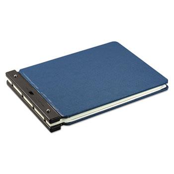 """Wilson Jones® Raven Vinyl-Guarded Post Binder, 2"""" Cap, 11 x 17, Light Blue"""