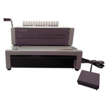 GBC® CombBind C800pro Binding System, 500 Sheet, 18 1/2 x 19 5/16 x 14 7/8, Gray