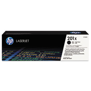 201X (CF400X) Toner Cartridge, Black High Yield