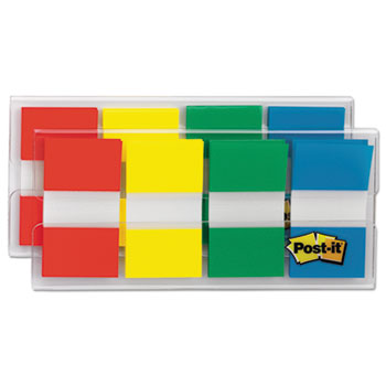 Page Flags in Portable Dispenser, Standard, 160 Flags/Dispenser