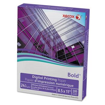 Bold Digital Printing Paper, 8 1/2 x 11, White, 500 Sheets/RM