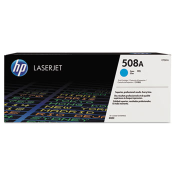508A (CF361A) Toner Cartridge, Cyan