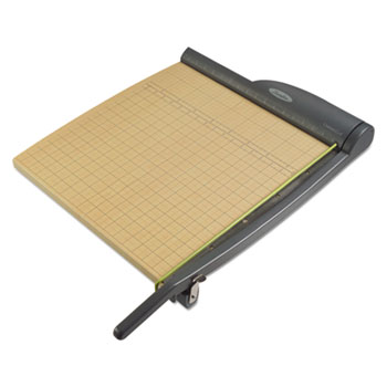 "Swingline® ClassicCut Pro Paper Trimmer, 15 Sheets, Metal/Wood Composite Base, 18"" x 18"""