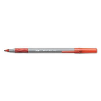 Round Stic Grip Xtra Comfort Ballpoint Pen, Red Ink, 1.2mm, Medium, DZ