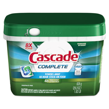Complete ActionPacs™, Fresh Scent, 46/Tub
