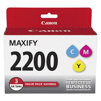 Canon® 9304B005 (PGI-2200) Ink, Cyan/Magenta/Yellow