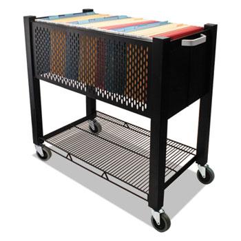 Vertiflex® InstaCart File Cart, 15w x 28-1/2d x 27-3/4h, Black