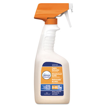 Febreze® Fabric Refresher & Odor Eliminator, Fresh Clean, 32 oz Spray Bottle, 8/CT
