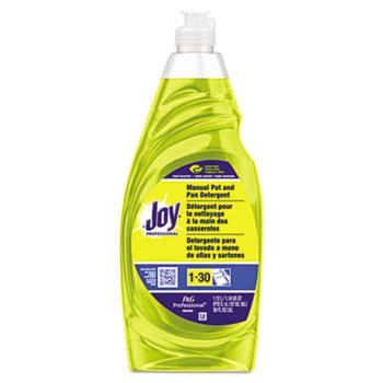 Joy® Dishwashing Liquid, 38 oz. Bottle, Lemon Scent