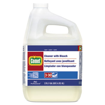 Comet® Cleaner with Bleach, One Gallon  Bottle, EA