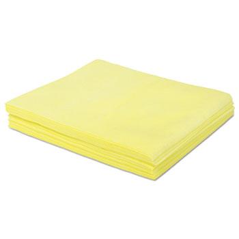 Boardwalk® Dust Cloths, 18 x 24, Yellow, 500/Carton