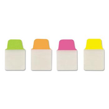 "Avery® Ultra Tabs® Repositionable Mini Tabs, Two-Side Writable, 1"""" x 1 1/2"""", Neons, 80/PK"