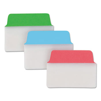 """Avery® Ultra Tabs® Repositionable Multiuse Tabs, Two-Side Writable, 2"""""""" x 1 1/2"""""""", Primary Colors, 24/PK"""