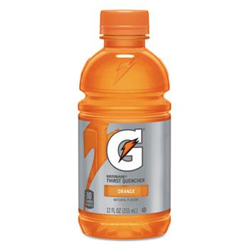 Gatorade® G-Series Perform 02 Thirst Quencher, Orange, 12 oz. Bottle, 24/CT