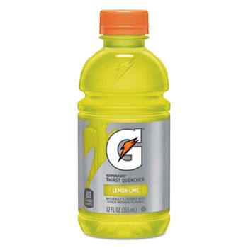 Gatorade® G-Series Perform 02 Thirst Quencher, Lemon-Lime, 12 oz. Bottle, 24/CT