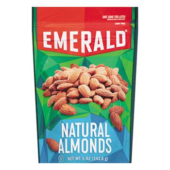 Emerald® Natural Almonds, 5 oz Bag, 6/Carton