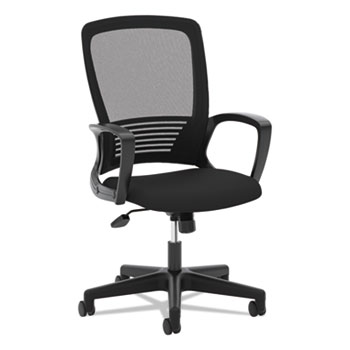 HON® VL525 Mesh High-Back Task Chair, Black