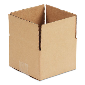 "General Supply Fixed-Depth Shipping Boxes, Regular Slotted Container (RSC), 9"" x 6"" x 4"", Brown Kraft, 25/Bundle"