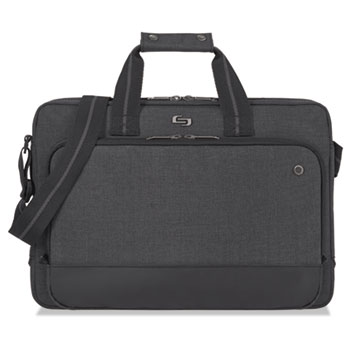 Solo Urban Slim Brief, 16 x 3 x 11 1/2, Gray