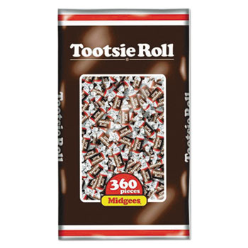 Roll Chocolate Midgees®, 38.8 oz., 360/PK