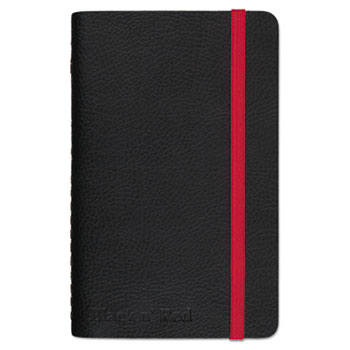 Black n' Red™ Soft Cover Notebook, Legal Rule, Black Cover, 3 1/2 x 5 1/2, 71 Sheets/Pad