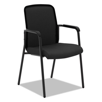 HON® VL518 Mesh Back Multi-Purpose Chair with Arms, Black