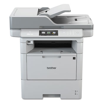 Brother MFC-L6900DW Wireless Monochrome All-in-One Laser Printer, Copy/Fax/Print/Scan