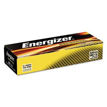Industrial Alkaline Batteries, AAA, 24/BX