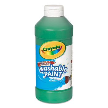 Crayola® Washable Paint, 16 oz. Bottle, Green