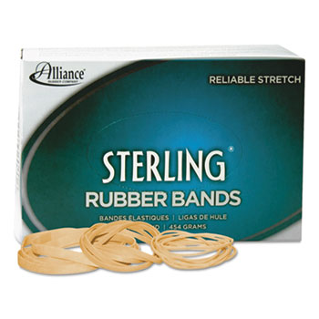 Alliance® Sterling Rubber Bands Rubber Bands, 33, 3 1/2 x 1/8, 850 Bands/1lb Box