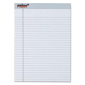 Prism Plus Colored Legal Pads, 8 1/2 x 11 3/4, Gray, 50 Sheets, Dozen