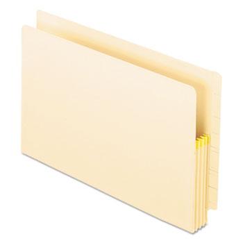 Pendaflex® Manila Drop Front Shelf File Pockets, Straight Cut, 25 Pockets, Legal, Manila